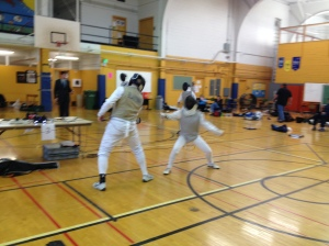 Rena Johnson Fencing 2012 PU Open