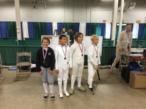 River City Fencing Winners