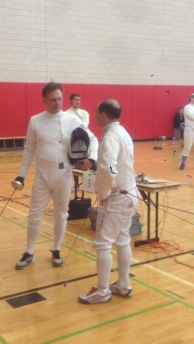 Fencer and the Master